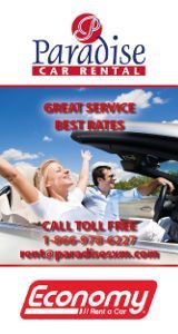 Paradise Car Rental Sidebar 160x300 - Rental Car