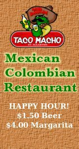 Taco Macho Restaurant Sidebar 160x300 Nightlife