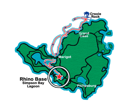 Rhino Route Map